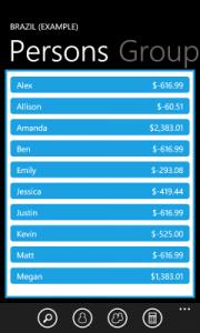 Friendly Budget для Windows Phone 7