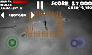 Amazing Zombie Defense - баррикада