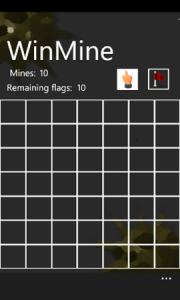 WinMine - игровое поле