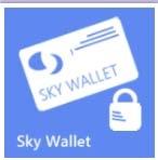 Логотип Sky Wallet