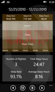 SleepMaster - статистика сна