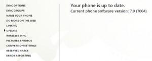 Обновление Windows Phone 7
