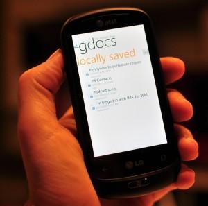 GDocs на WP7