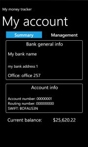 My Money Tracker - баланс