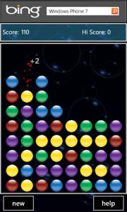 Bubble Burst - геймплей