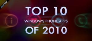 10 лучших приложений 2010 года для Windows Phone 7