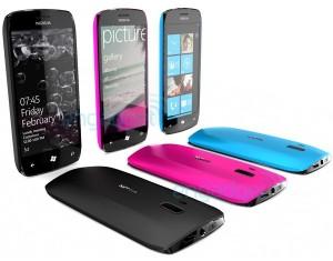 Концепт телефона от Nokia с Windows Phone 7?