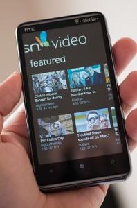 MSN Video для Windows Phone7