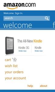 Amazon для WP7 - 2
