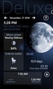 Приложение Deluxe Moon