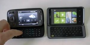HTC 7 Pro vs HTC TyTN II