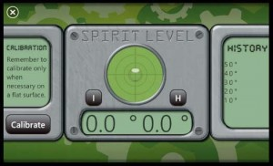 Spirit Level - второй режим работы