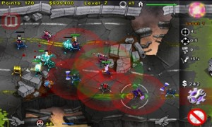 Геймплей игры Zombies Attack! 2