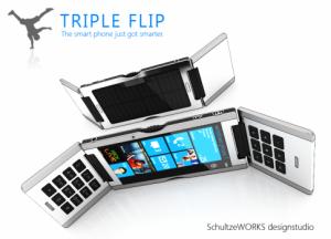 Концепт-смартфон Triple Flip