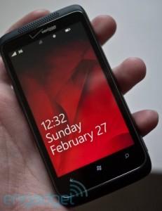 Выход HTC Trophy у оператора Verizon