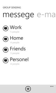 Обзор приложения Group Sending