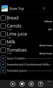 Обзор приложения для составления списка покупок Shopglider
