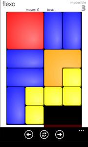 Slideout - логическая игра для Windows Phone 7