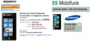 Снижение цен на WP7 смартфоны