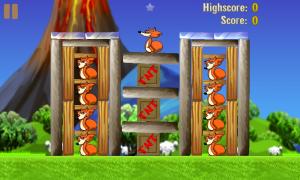 Вышла финальная версия Chicks'n'Vixens, клона Angry Birds