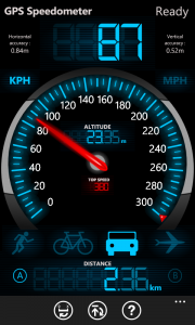 Обзор приложения GPS Speedometer