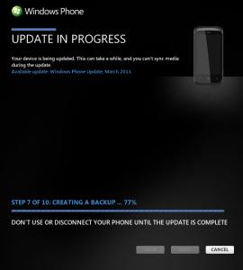 Началось обновление NoDo для Windows Phone 7