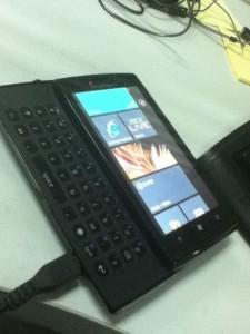 Телефон Sony Ericsson на Windows Phone 7