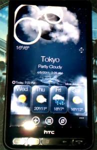 HTC Hub на HD2 с установленной WP7