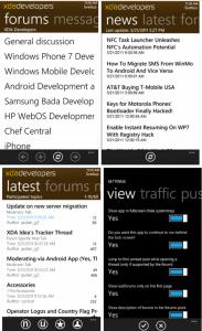 Обзор официального приложения XDA