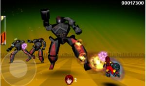 Обзор аркадной игры Gridrunner Girl 3D