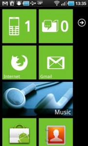 Launcher 7. Оформление Windows Phone 7 на Android