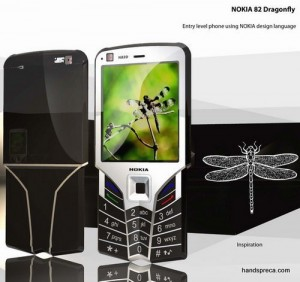 Nokia 82 Dragonfly Concept