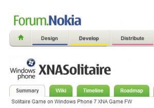 Nokia показывает первые приложения для WP7