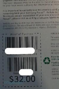 Сертифицированные для WP7 карты памяти