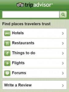 Обзор приложения TripAdvisor