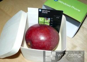 Microsoft Польша рассылает приглашения с манго