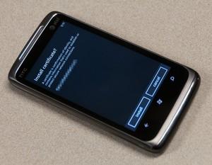 Microsoft начал распространять обновление системы безопасности Windows Phone 7
