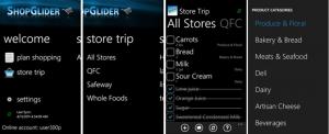 Обзор апдейта приложения ShopGlider