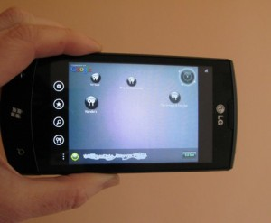 LG Optimus 7 - ScanSearch