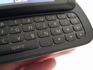 LG Quantum - клавиатура