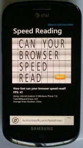Windows Phone 7 Mango HTML5