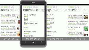 Представляем Evernote для Windows Phone 7