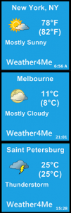 Обзор приложения Weather4Me 2.1