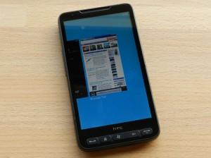 Mango на HTC HD2