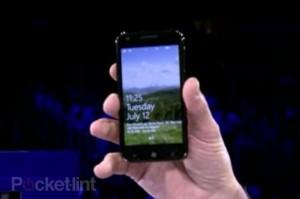 Samsung Galaxy S II Windows Phone 7