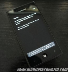 Twitter на Windows Phone Mango