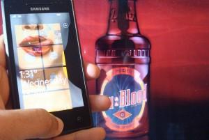 Обои 'Настоящая кровь' для Windows Phone 7