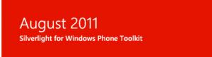 Обновлённая версия Silverlight Toolkit для Windows Phone Mango