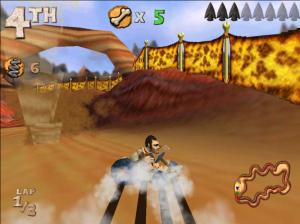 На следующей неделе в маркете должна появиться популярная игра Cro-Mag Rally