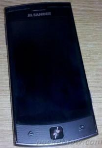 LG E906 от Jil Sander